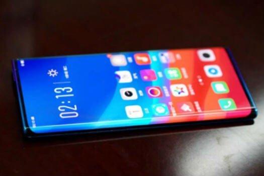 Oppo unveils 'Waterfall' edgeless smartphone display