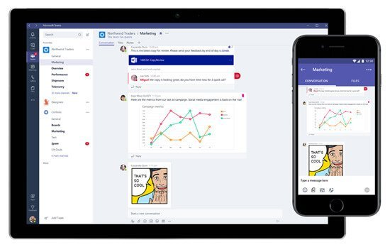 Microsoft teams screenshot collaboration