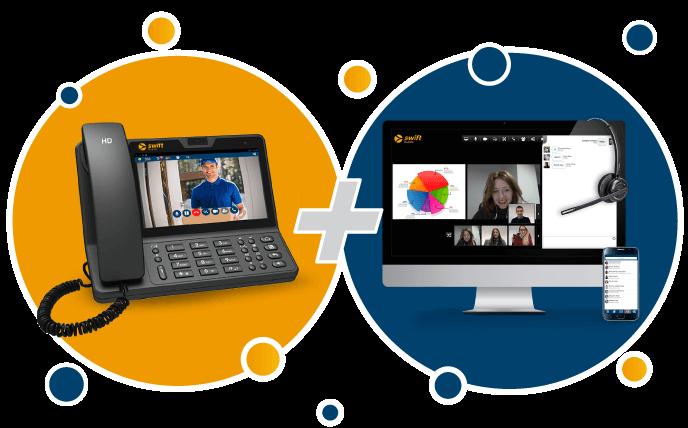 swift phone + collaboration tools