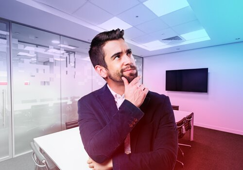 Man contemplating which cloud partner to go with